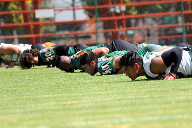 Aztecas de la UDLAP continúan su preparación