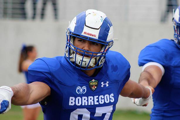 Víctor Gutiérrez WR de Borregos Monterrey
