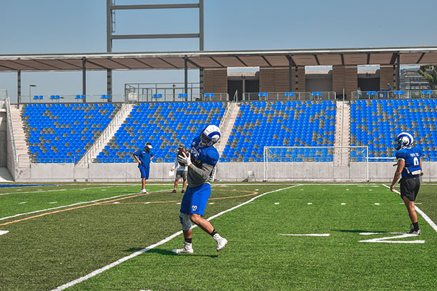 Borregos Monterrey intensifica entrenamientos