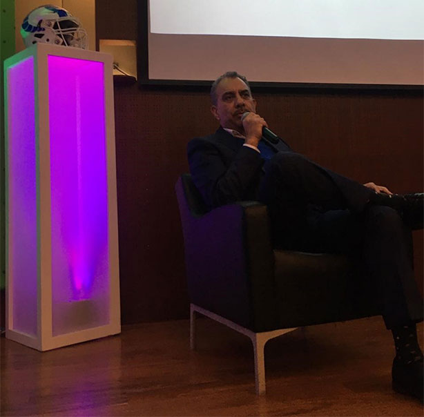 Javier Trejo Garay compartió experiencias en el Tec Santa Fe
