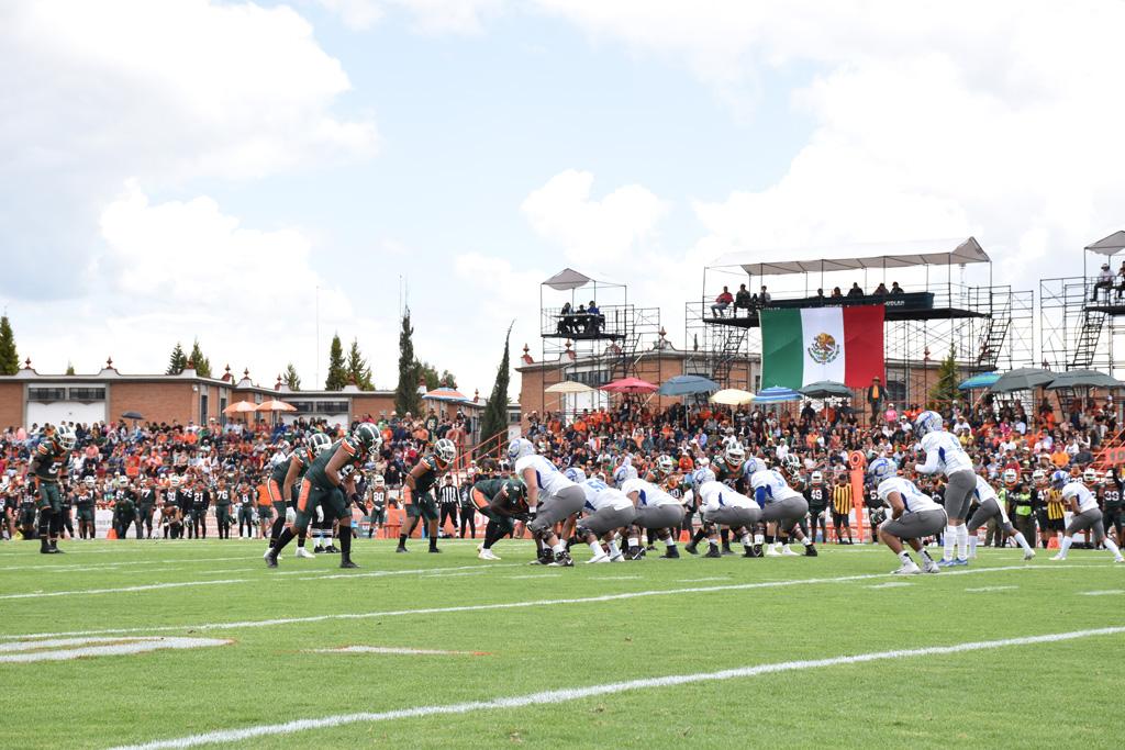 Temporada 2019: Aztecas UDLAP vs. Borregos México