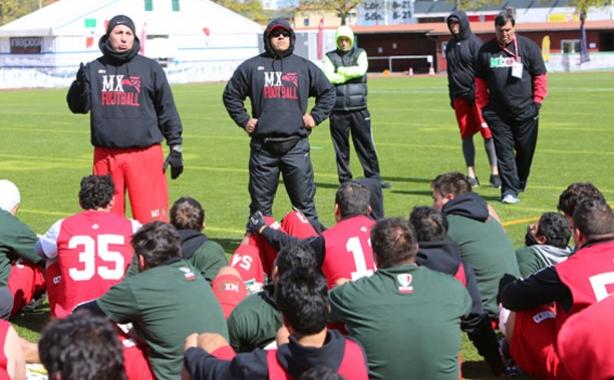 Aspectos de la práctica matutina de la Selección Nacional