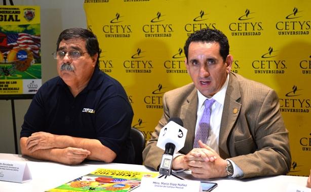 Mtro. Mario Dipp Núñez, Director CETYS Mexicali