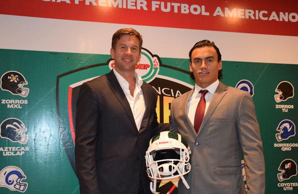 HC Eric Fisher y WR Robin González