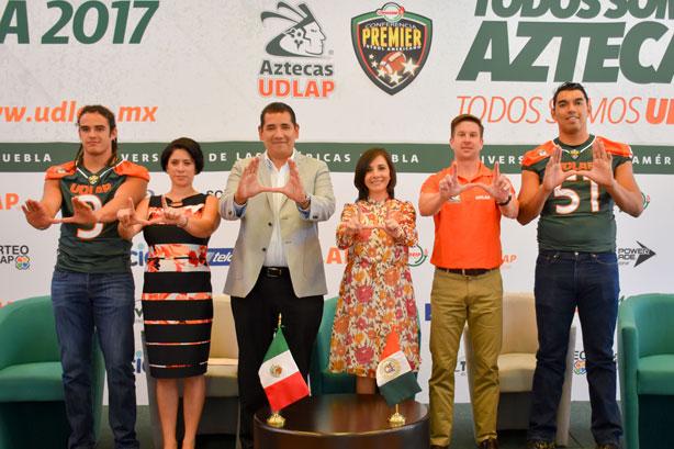 La UDLAP realiza la presentación de su equipo