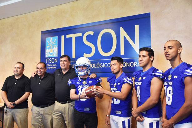 Se presentaron los Potros ITSON para la temporada 2017