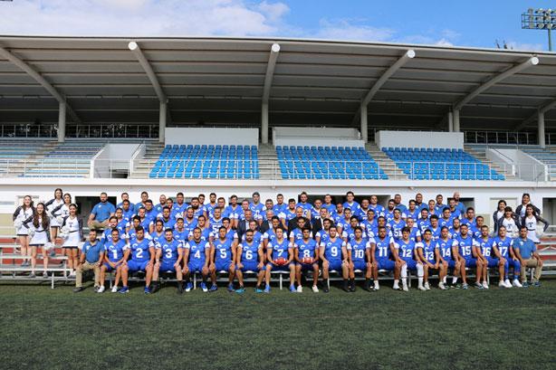 El equipo de los Borregos Guadalajara 2018