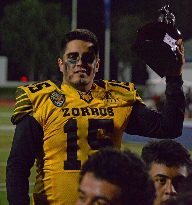Kevin Barak desea ya saltar al emparrillado con los Zorros