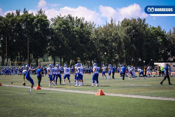 Gran partido se vivió en la Fortaleza Azul de Zapopan