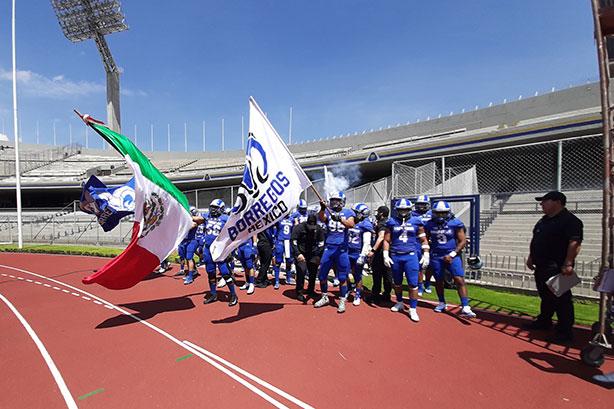 Los Borregos México se presentaron en el Olímpico México 68