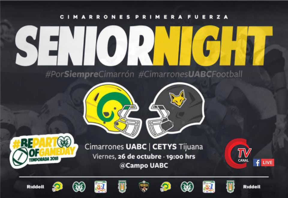 Senior Night en la UABC