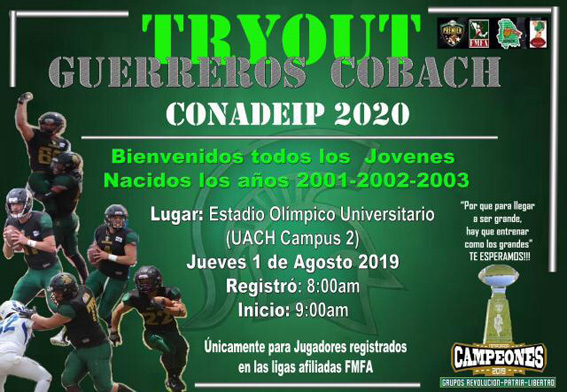 Try Out Guerreros COBACH
