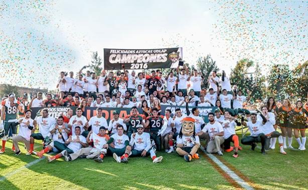 Aztecas UDLAP a defender su título obtenido en la CONADEIP